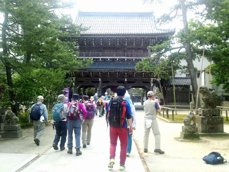 指定文化財の山門