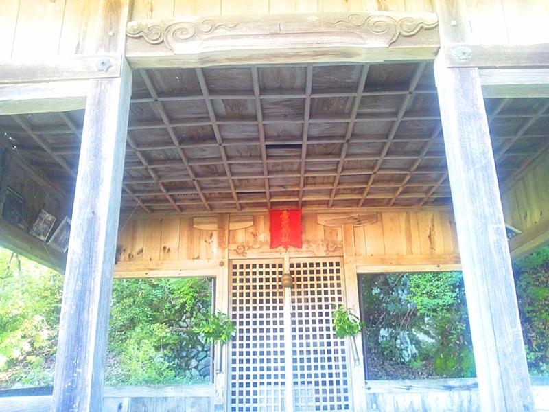 愛宕神社のお堂