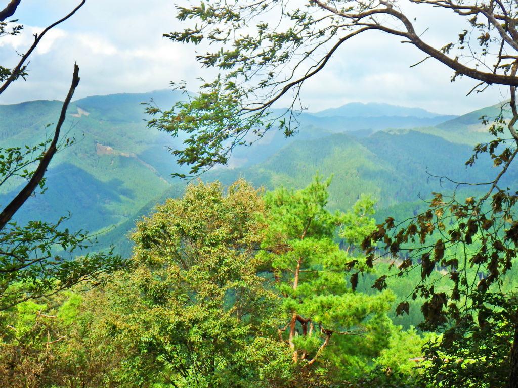 19b 山頂から東方面の眺め