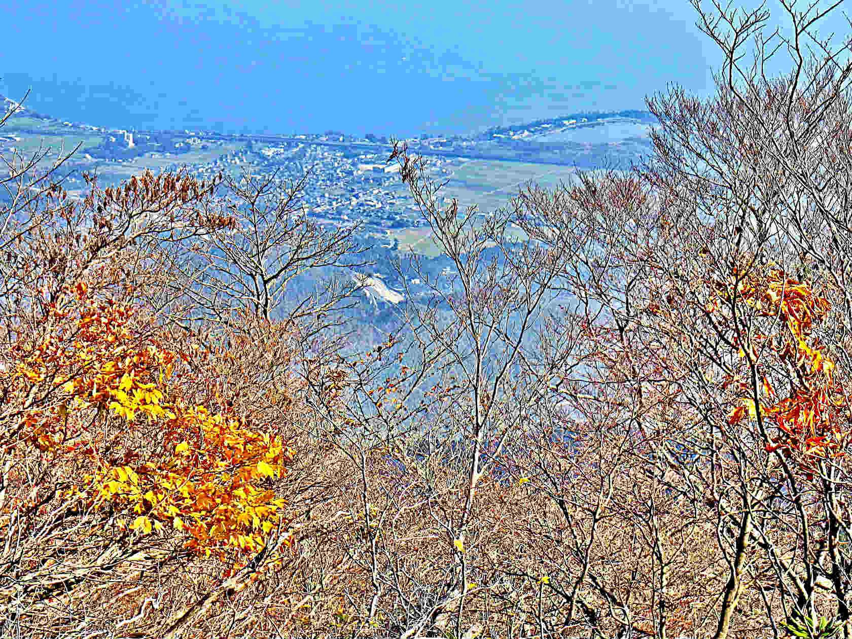 17b 山頂からの眺め