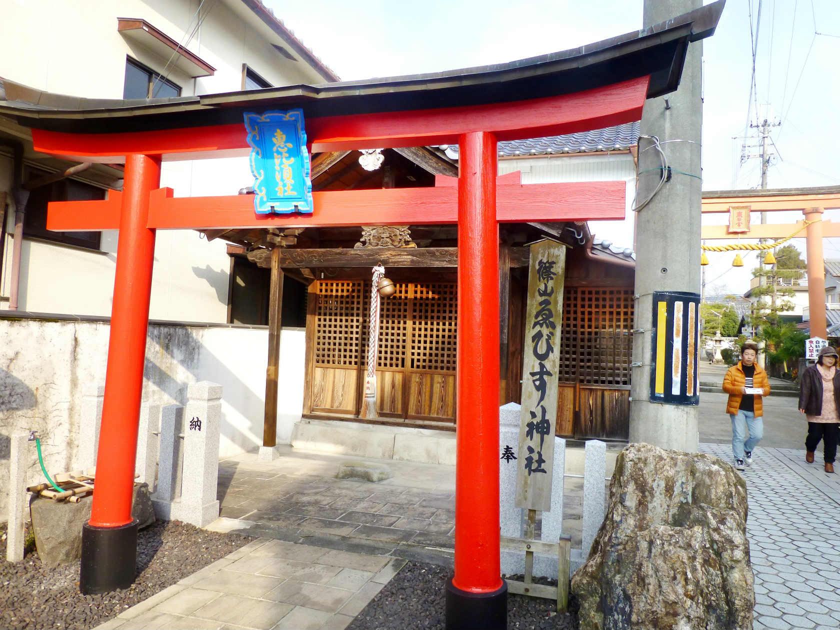 22a えびす神社の鳥居