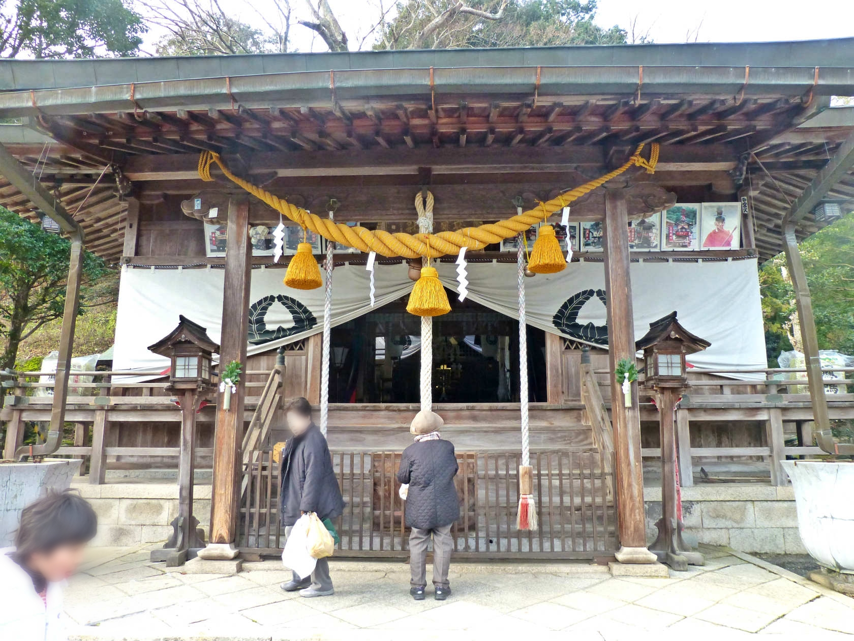 23a 春日神社の本殿
