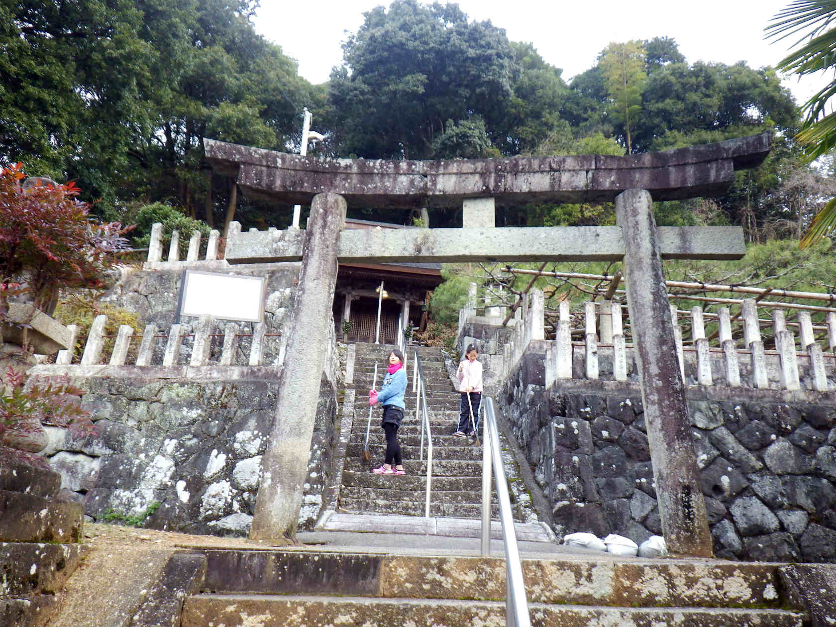 03a 天満神社の鳥居