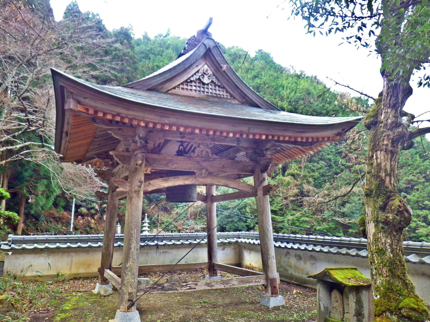 15a 弘誓寺の鐘撞き堂