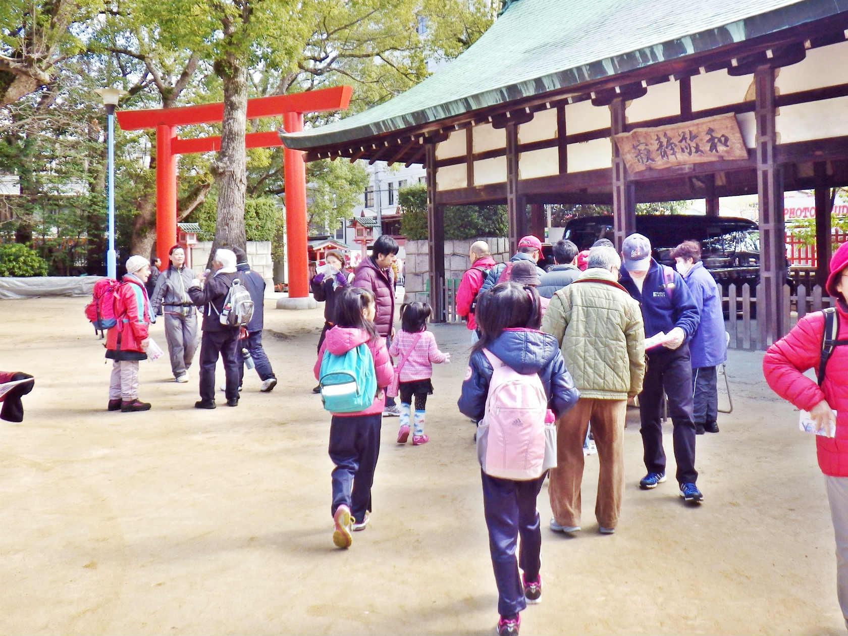 11a 長田神社に到着