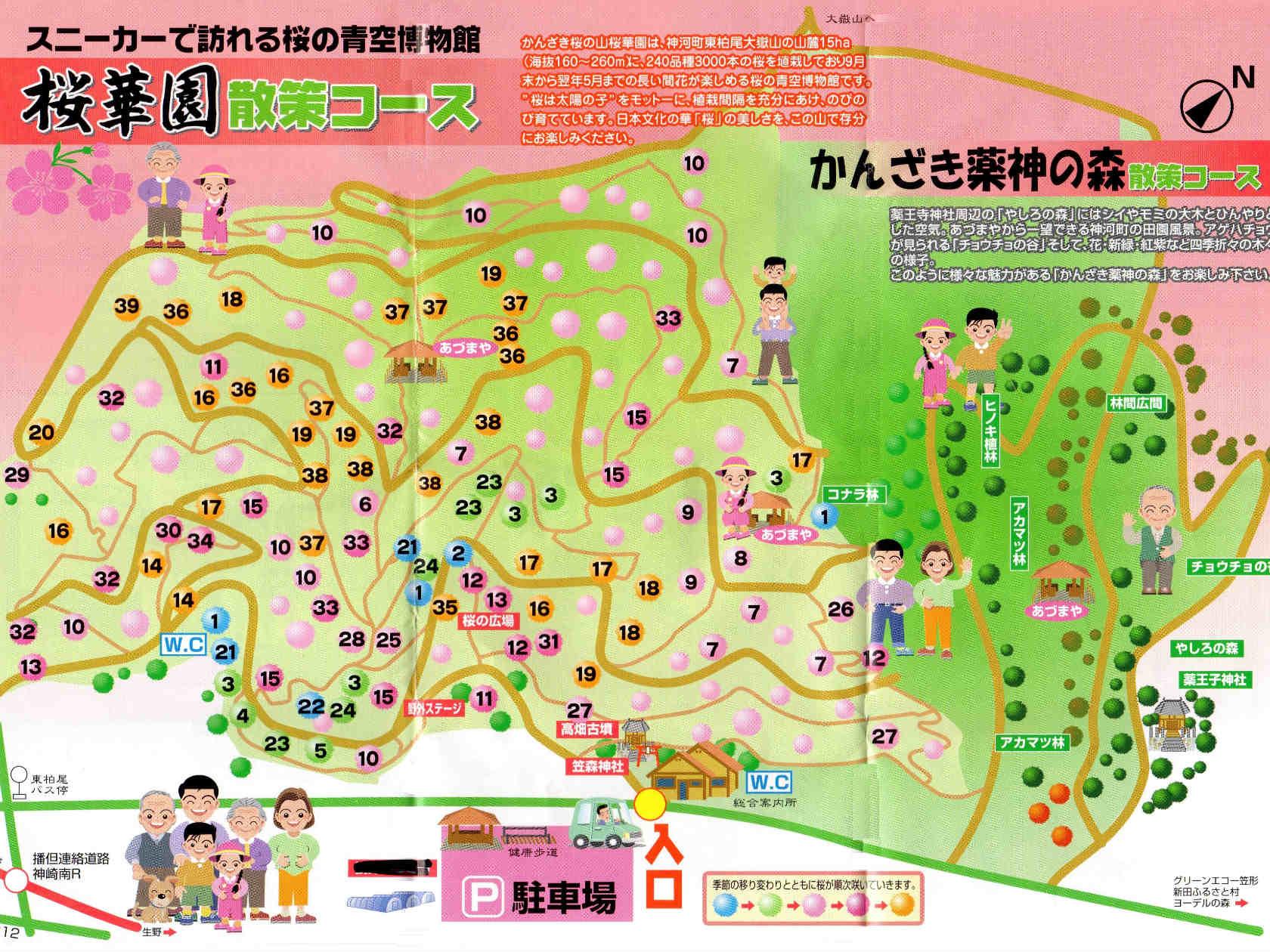 01b 桜華園散策コース
