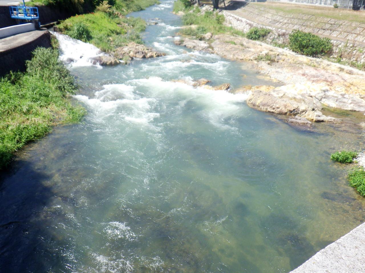 28a 伊沢川の生谷橋上流