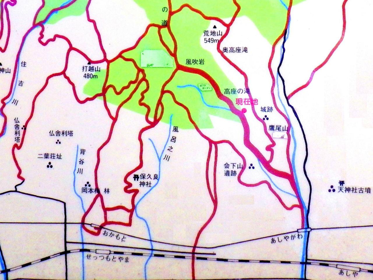 01b 藤木祭コース付近案内図