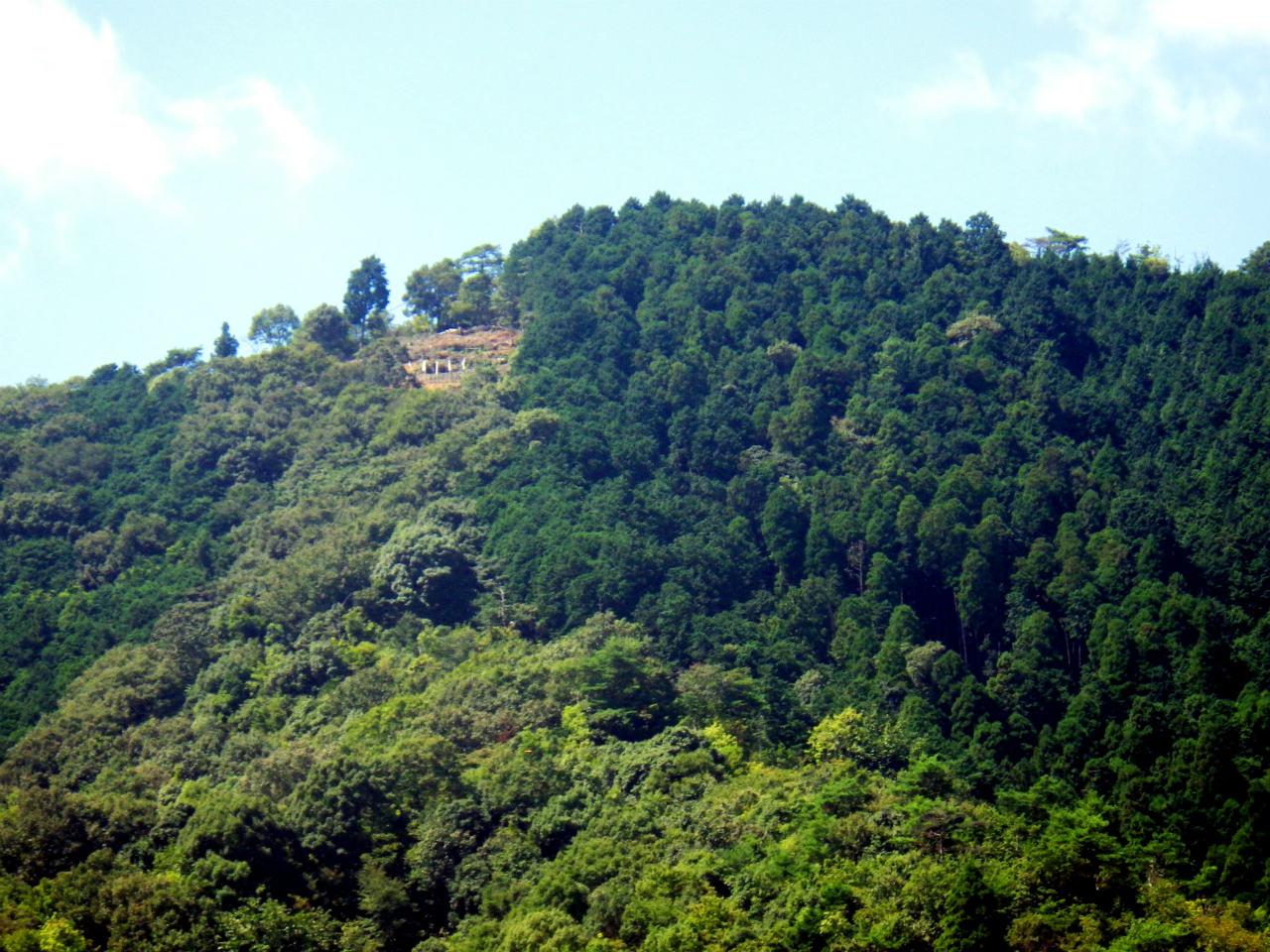 27b 山頂付近の拡大