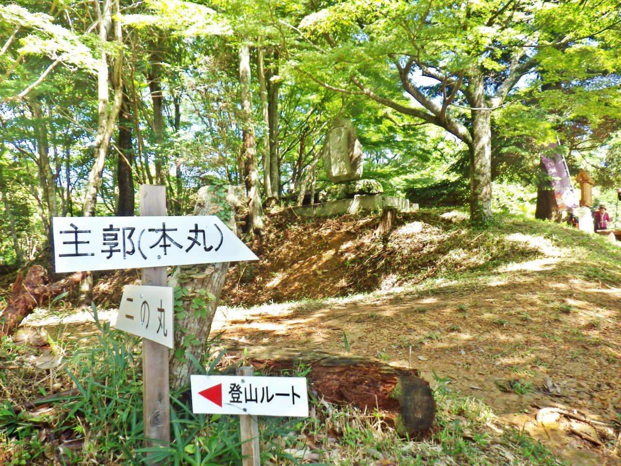 17a 篠ノ丸城本丸入口
