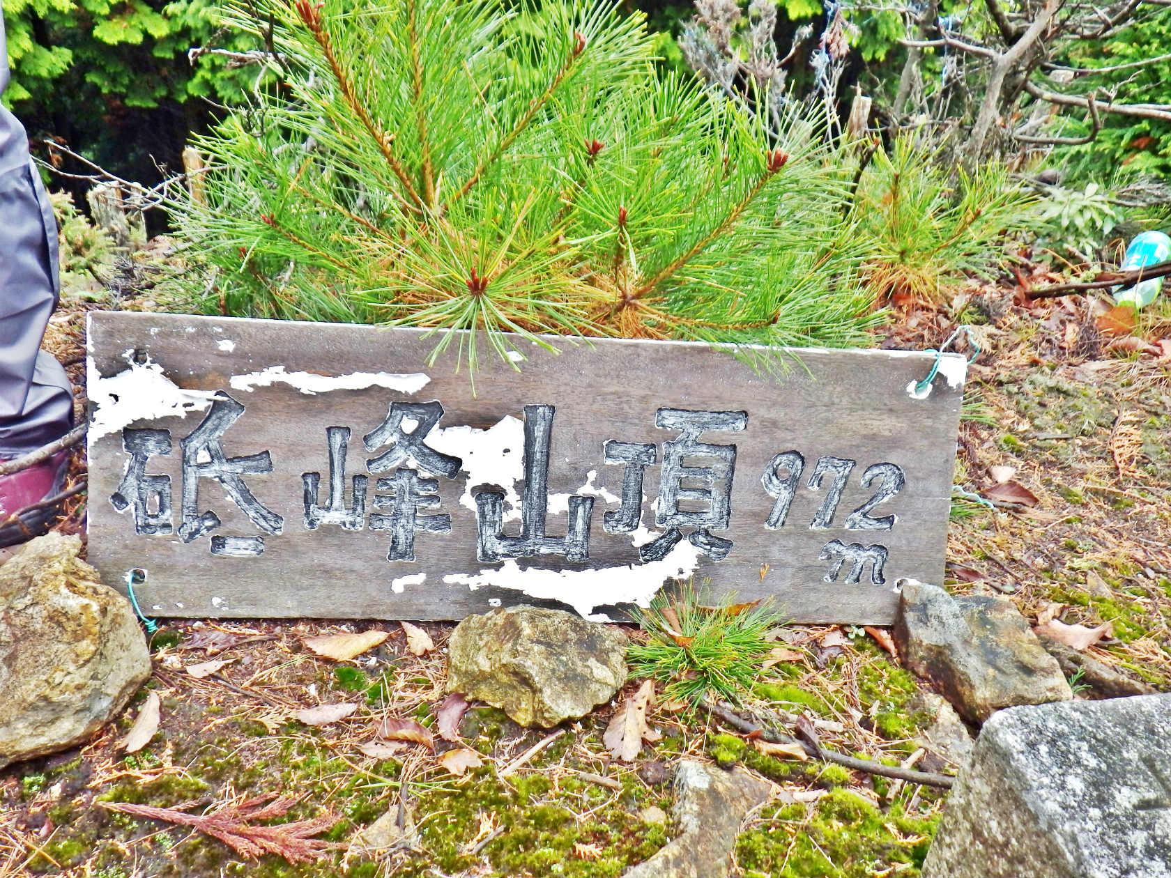 07b 砥峰山の山頂