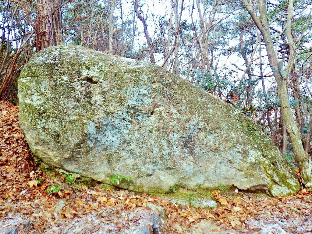 07b 横から見たカエル岩