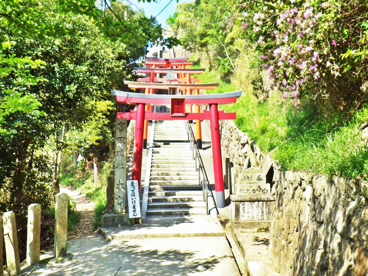 11a 高取神社の鳥居