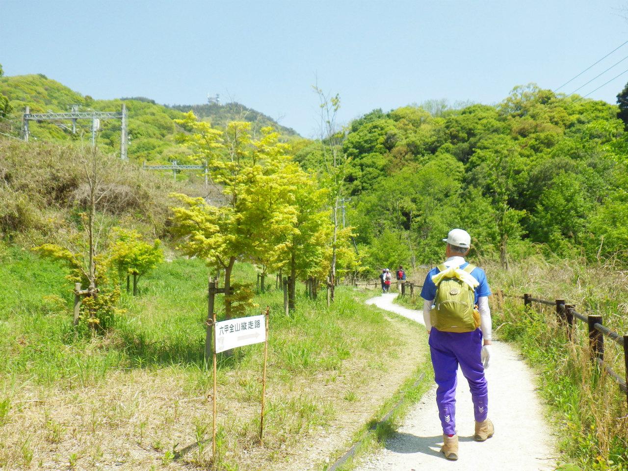 12b 菊水山へ向かう