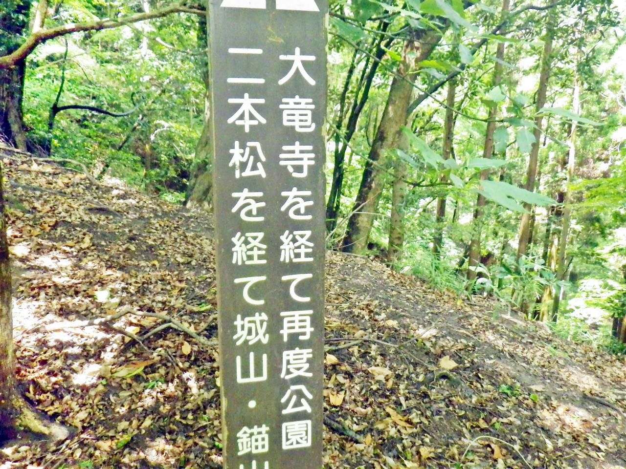 15b 再度公園方面への標識