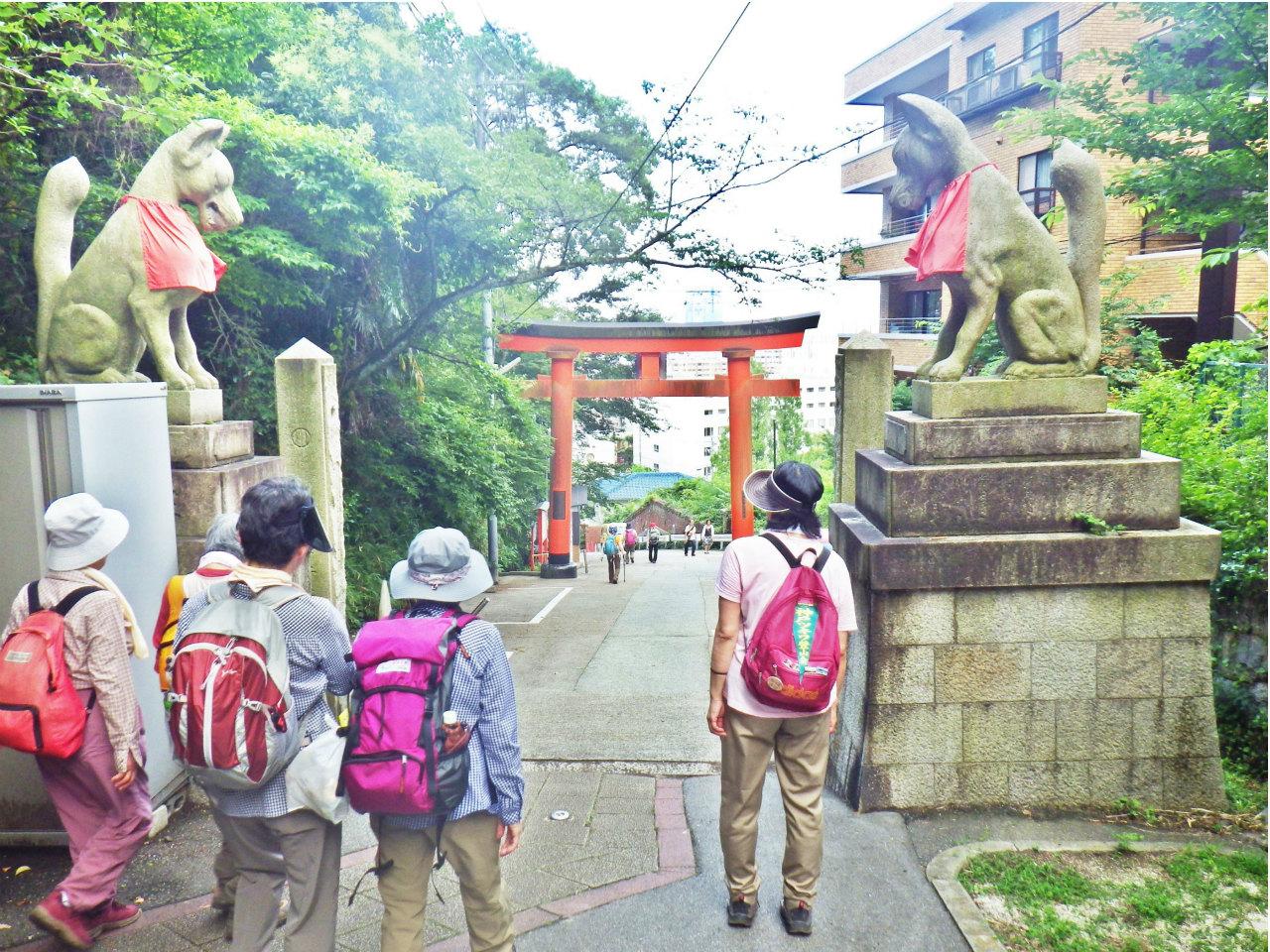 25a 諏訪神社の鳥居