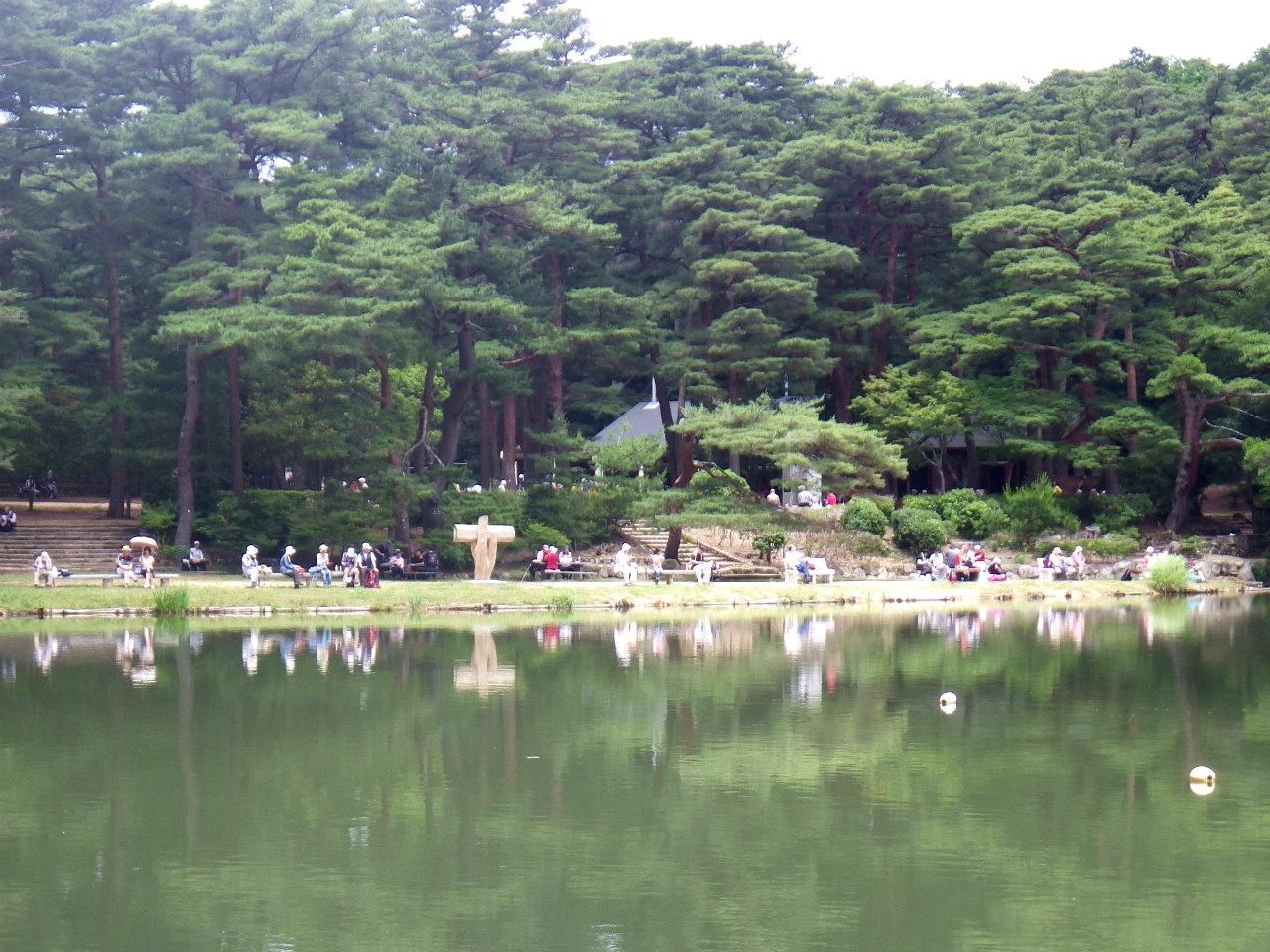 20a 修法ヶ原池の対岸