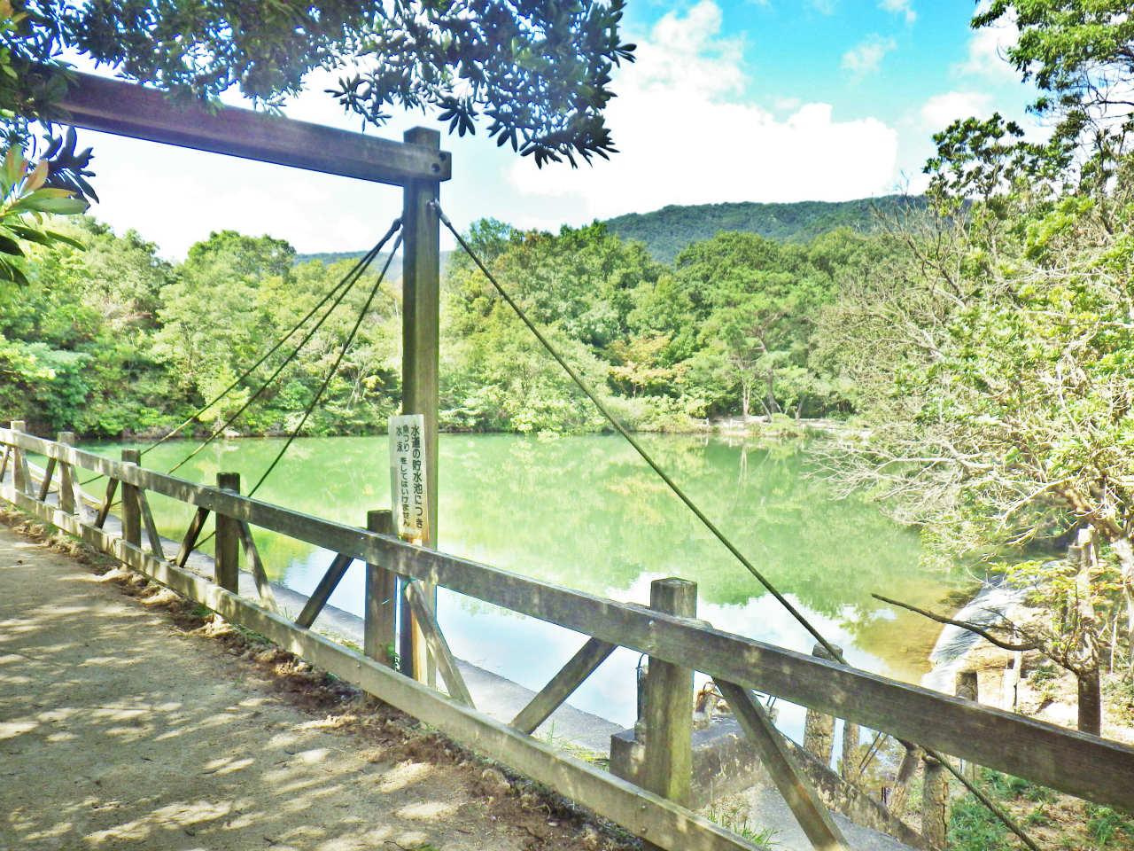 04b 北山池に架かる橋