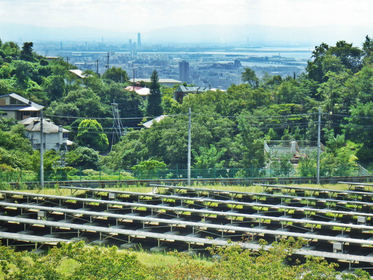 10a 大阪方面の遠景