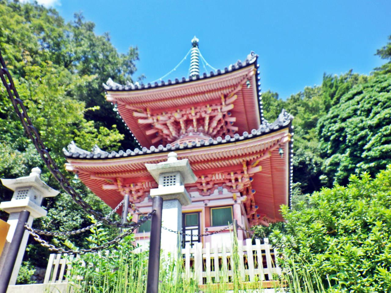 16b 神呪寺の多宝塔