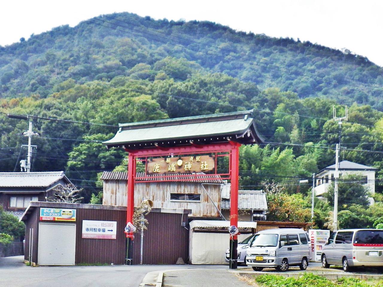 22b 鹿島神社の赤い鳥居