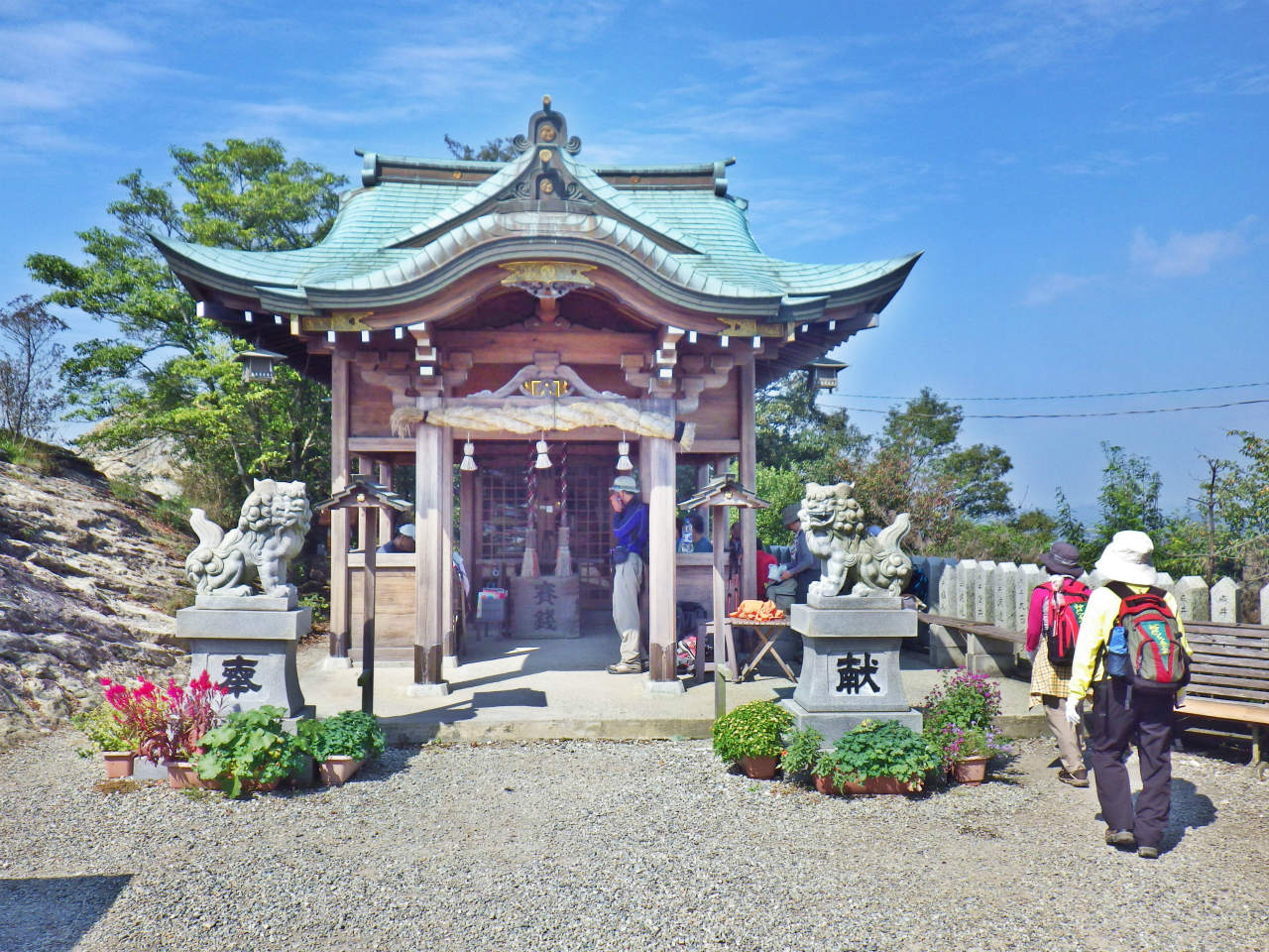 10a 山頂の高御位神社