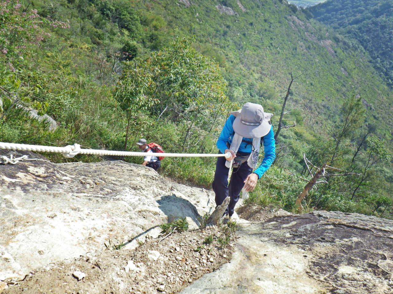 07a 常設のロープを使う
