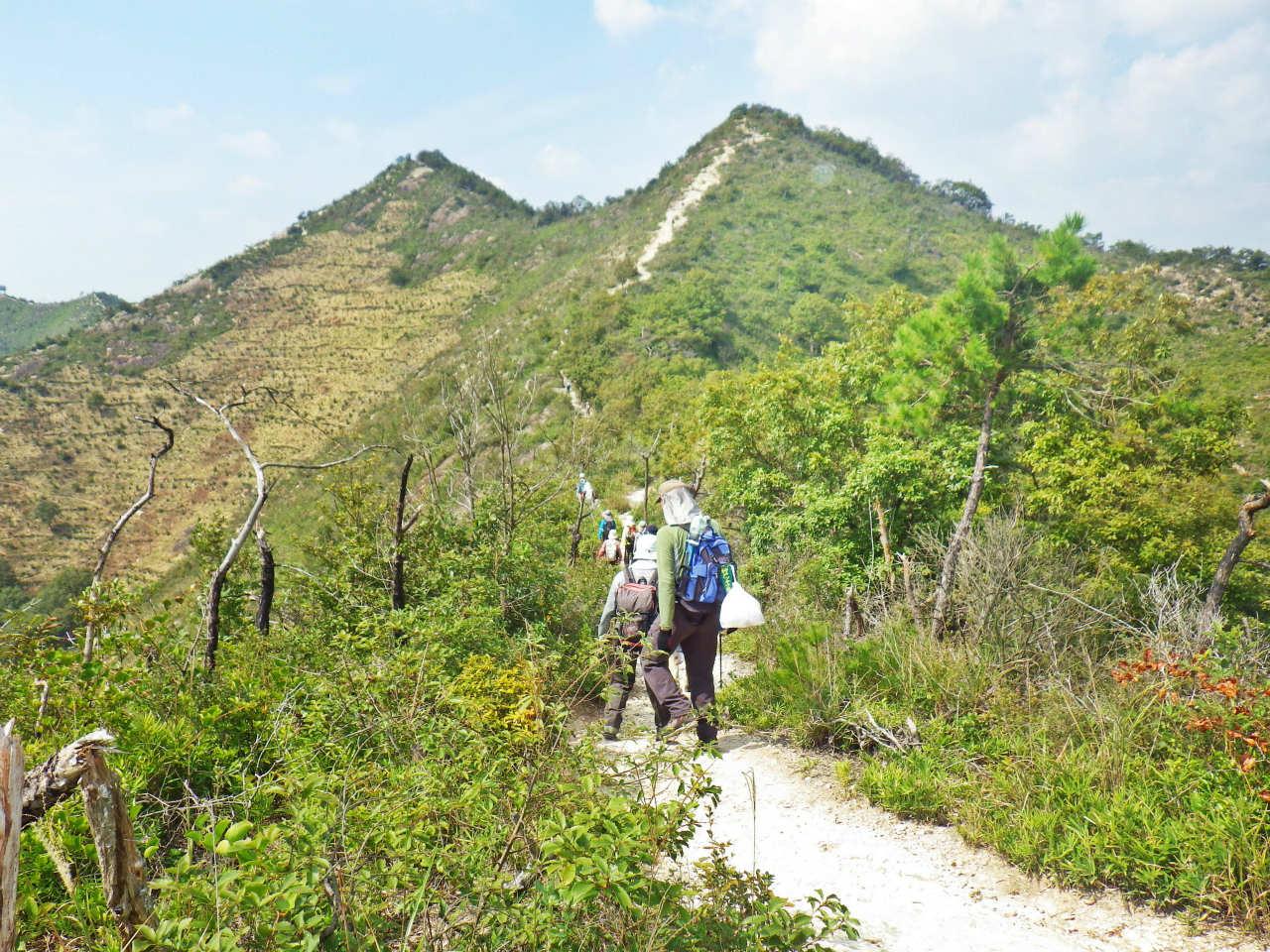 13a 鷹ノ巣山方面へ進む