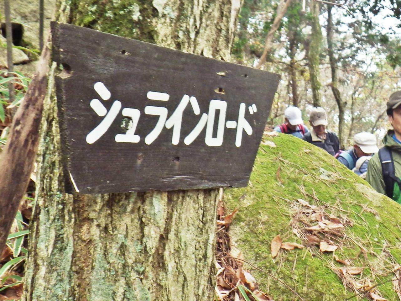 11b シュラインロードの標識