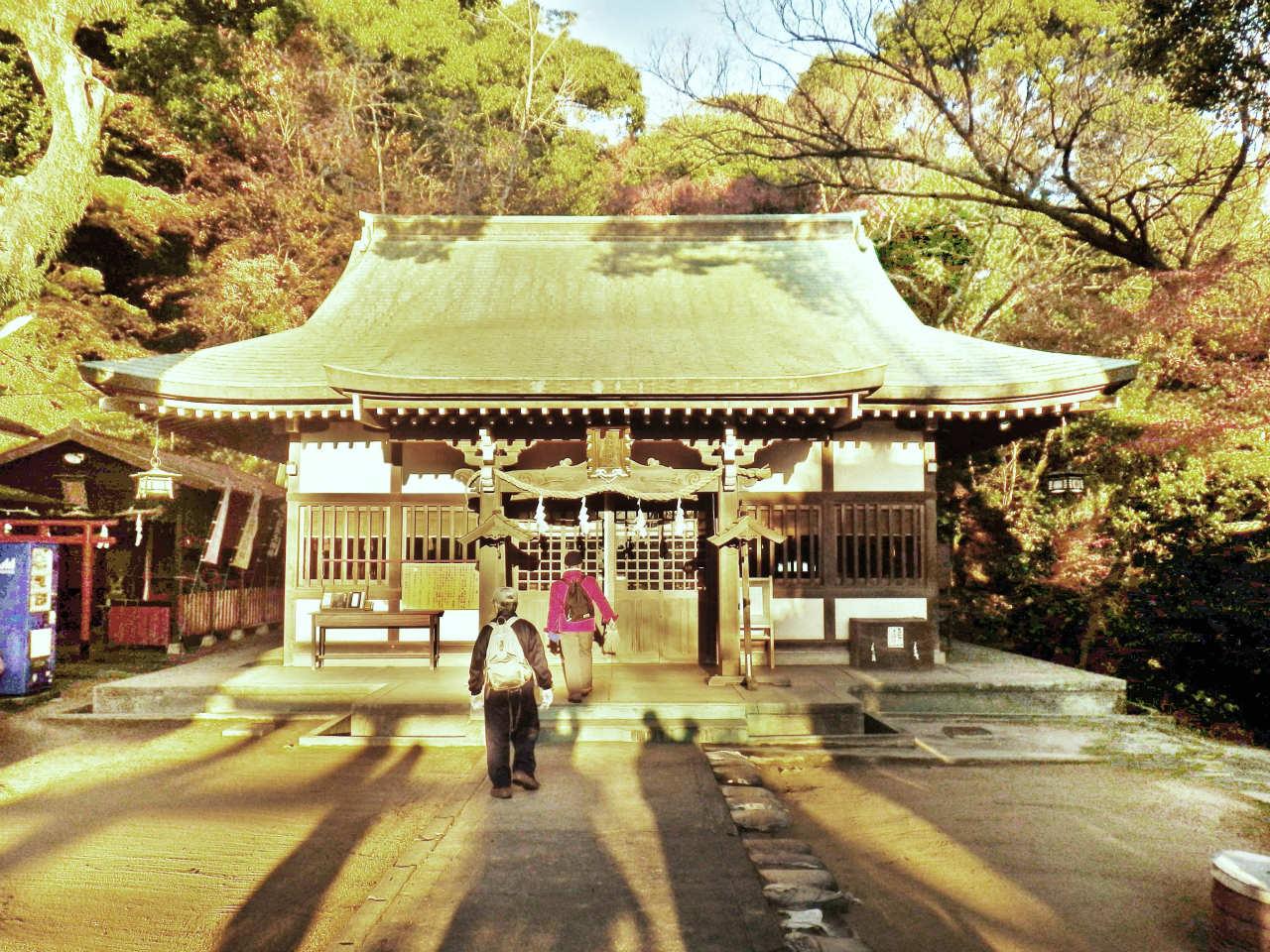 03a 板宿八幡神社の拝殿