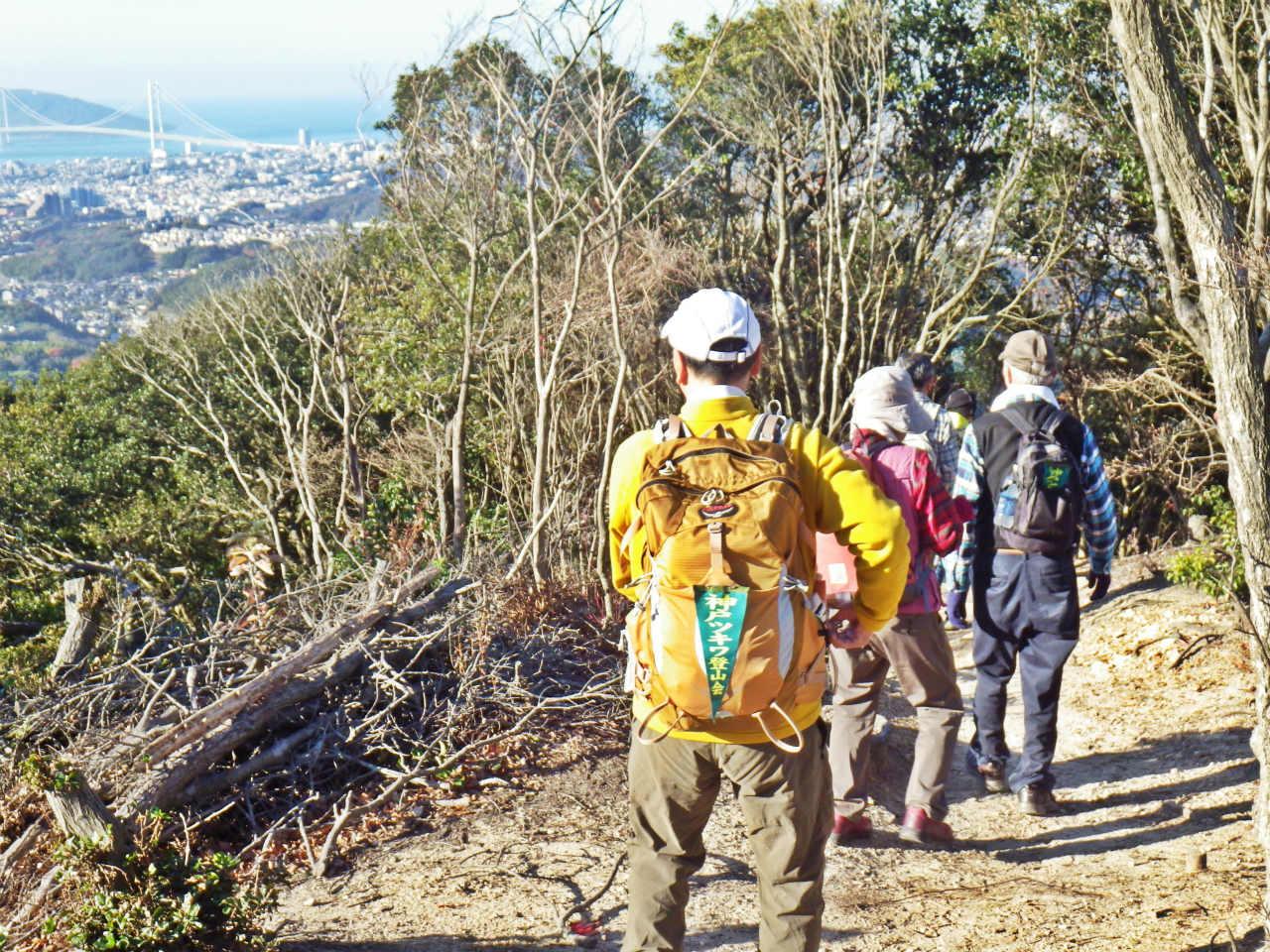 10a 栂尾山へ向かう