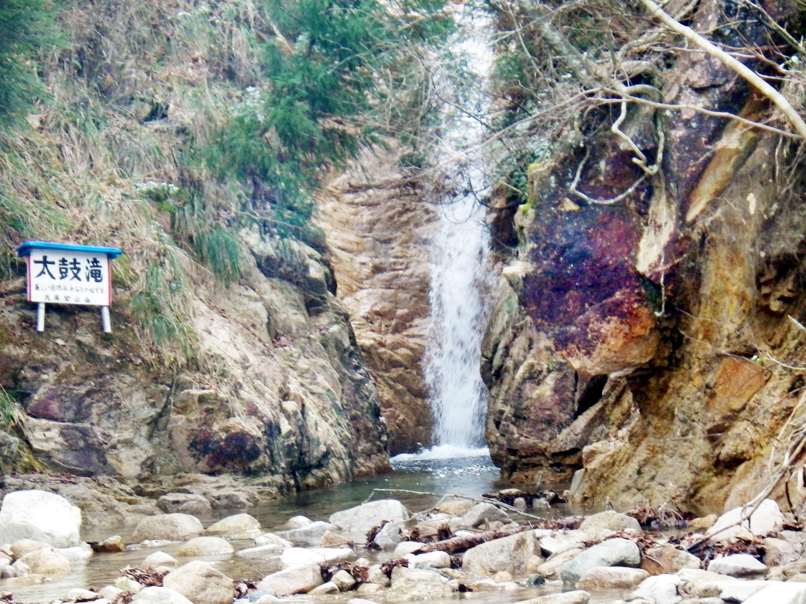 16b 六甲川の太鼓滝