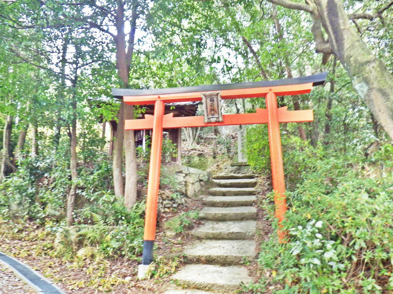 21b 下山口の稲荷神社