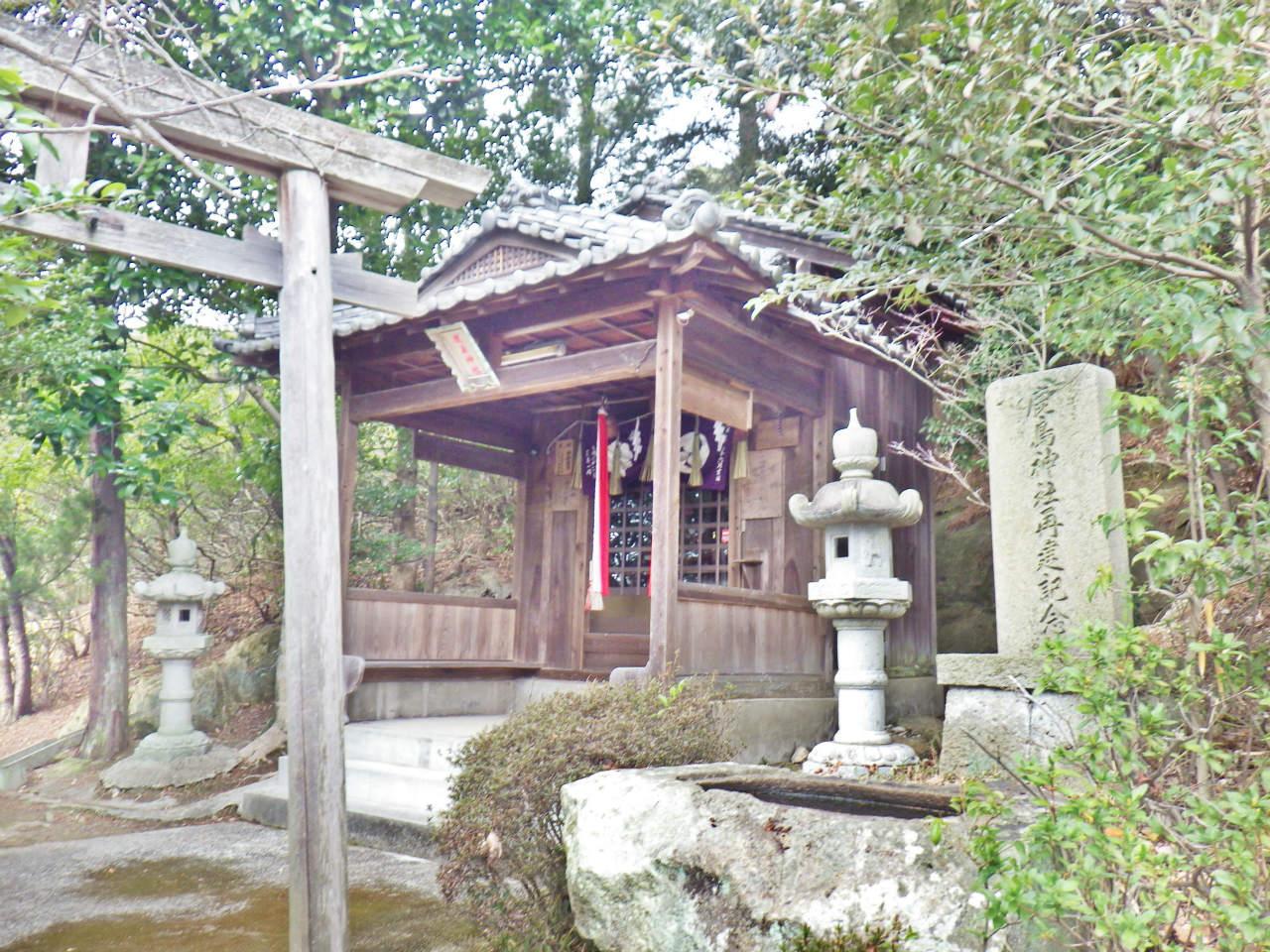 21a 下山口の鹿島神社