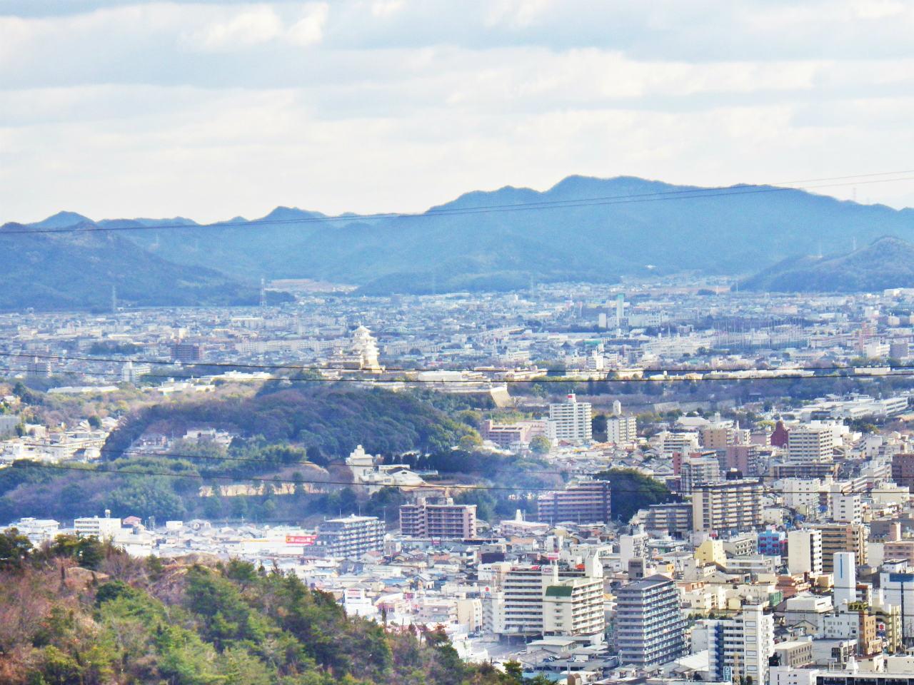 12a 姫路城方面の眺め