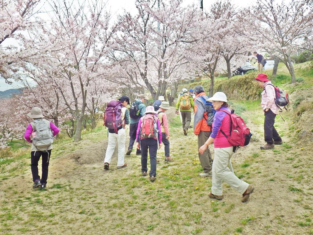 23a 日笠山から下山