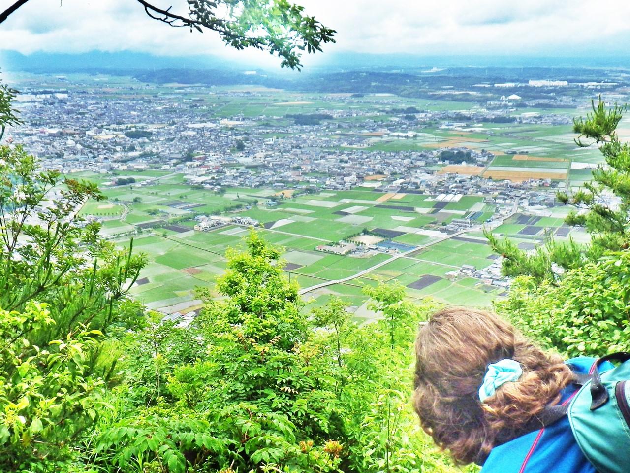10b 小脇山の山頂の眺め