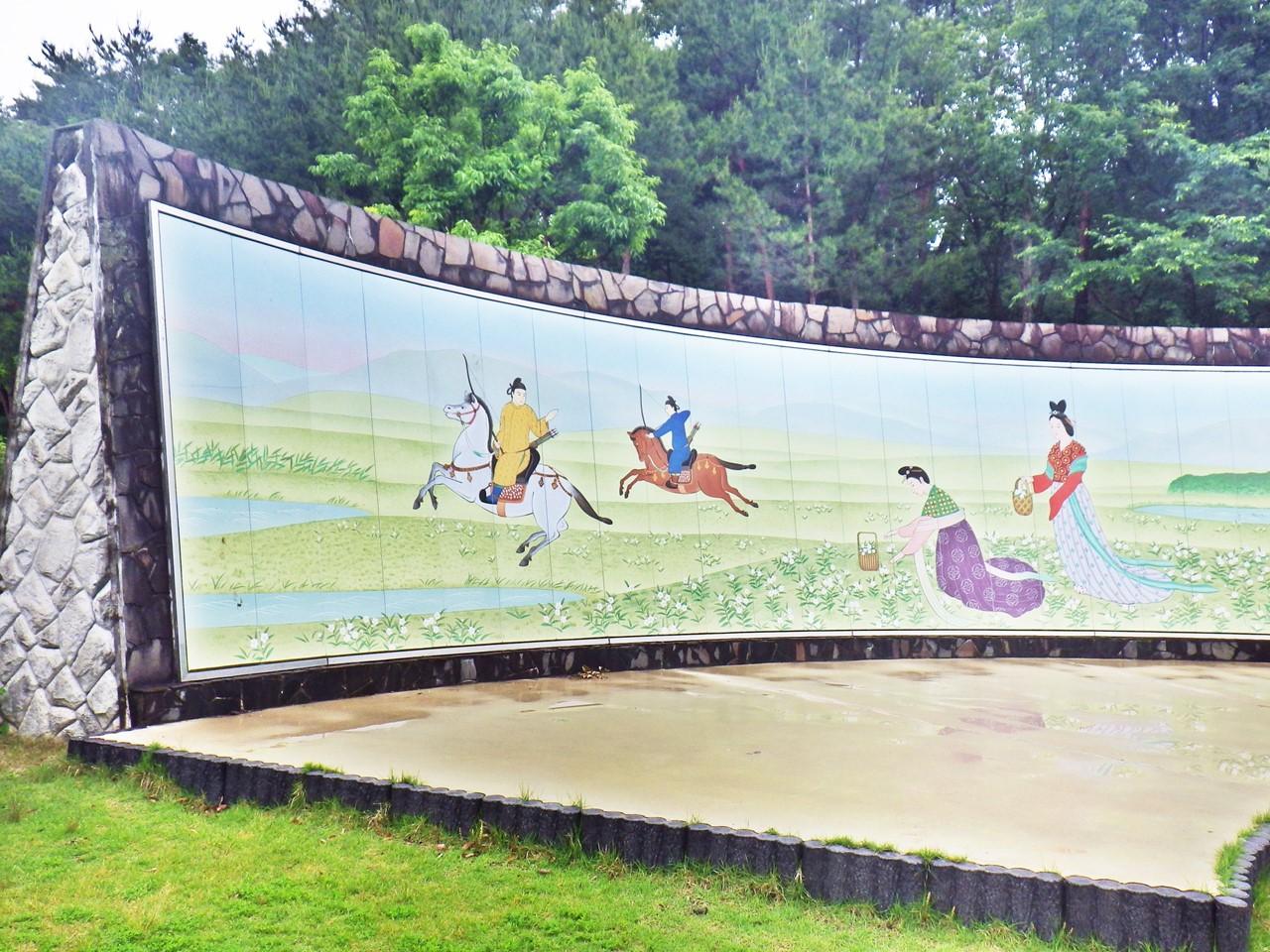02b 公園内の陶板壁画