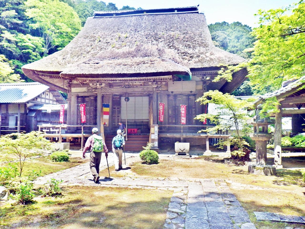 14b 瓦屋禅寺の本堂