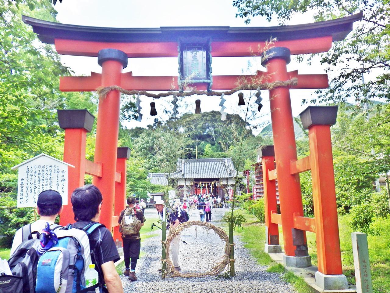 08a 丹生官省符神社の鳥居