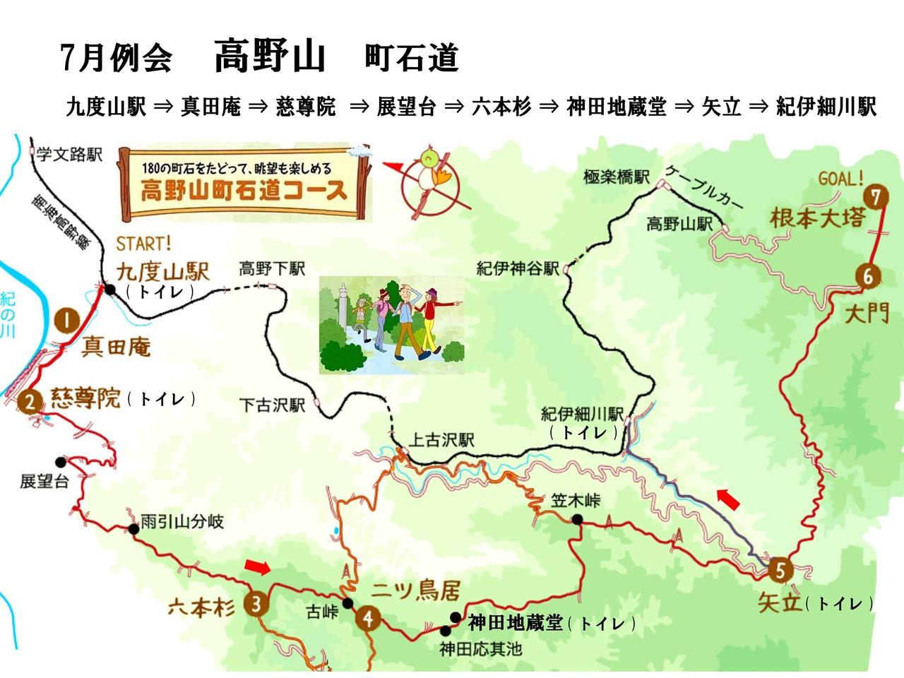 01a 高野山町石道マップ