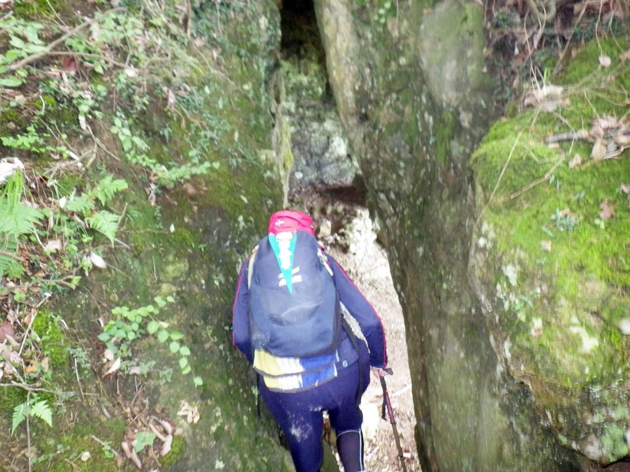 17b 神座の窟の入り口