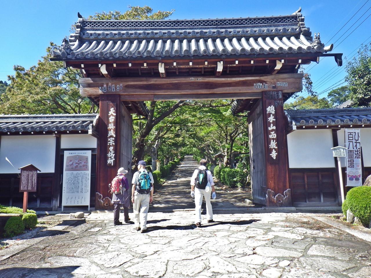 22a 西教寺の山門