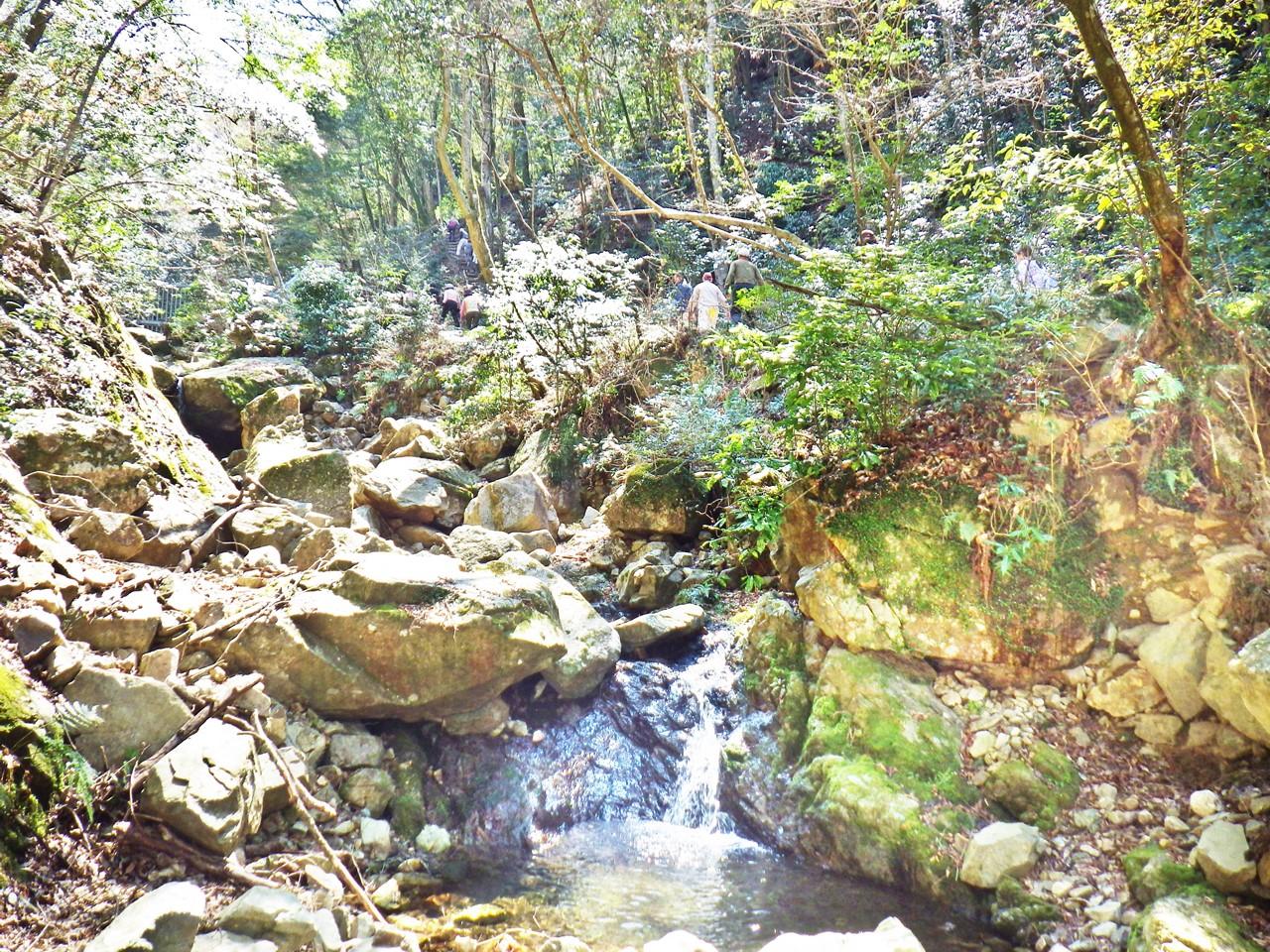 11a 霞滝の上流