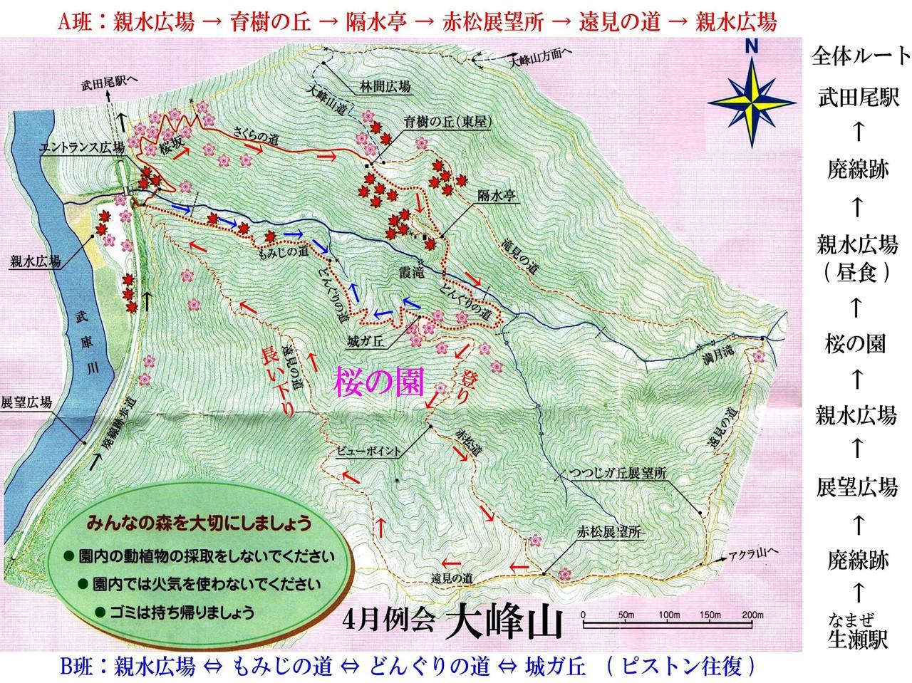 07b 桜の園ルートマップ