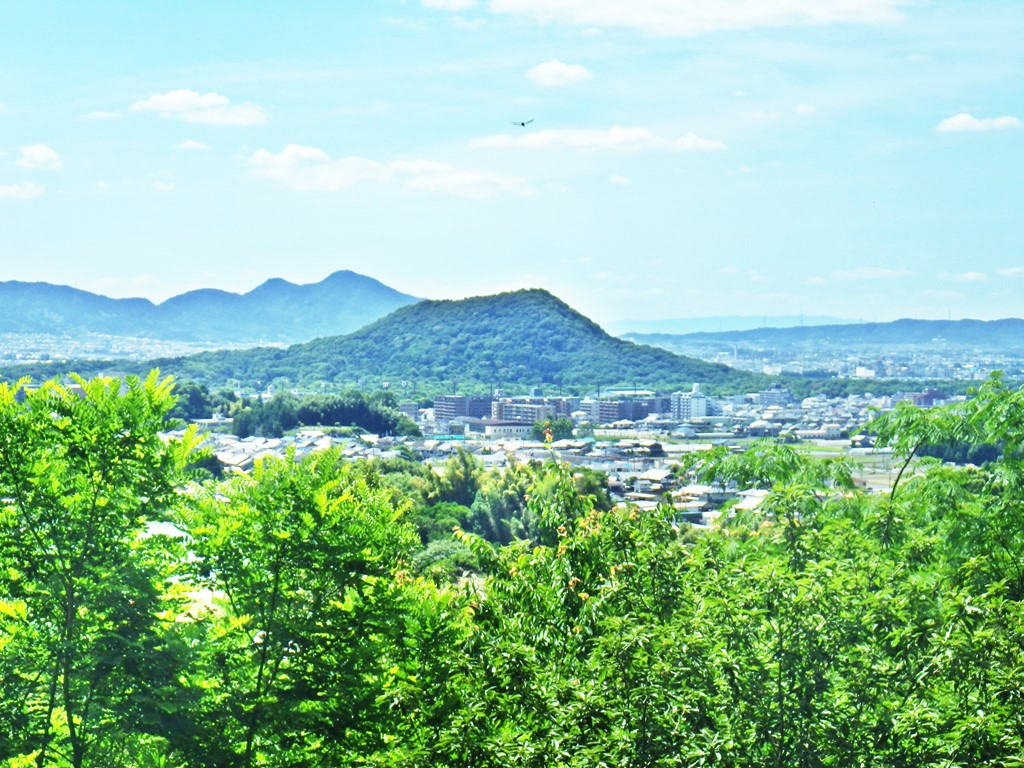 15b 畝傍山の眺望