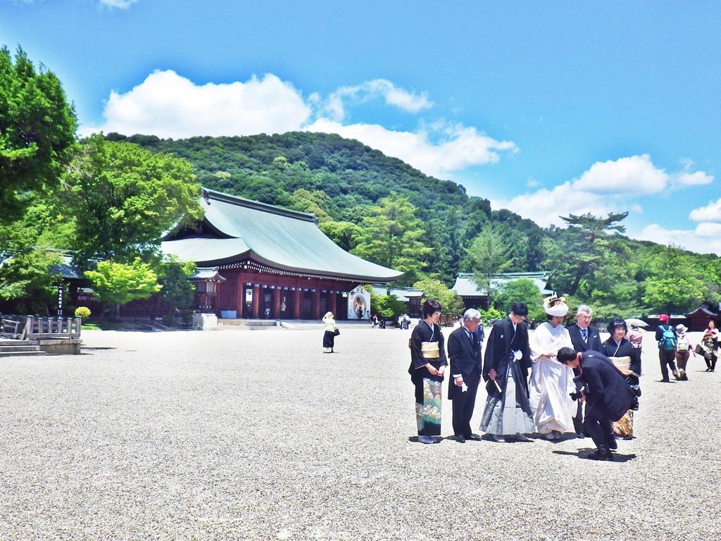 11a 橿原神宮の外拝殿