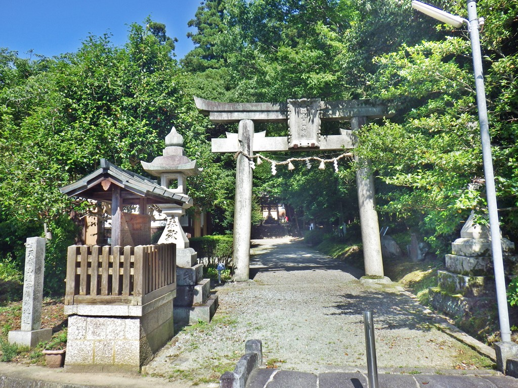 19a 天香山神社の鳥居
