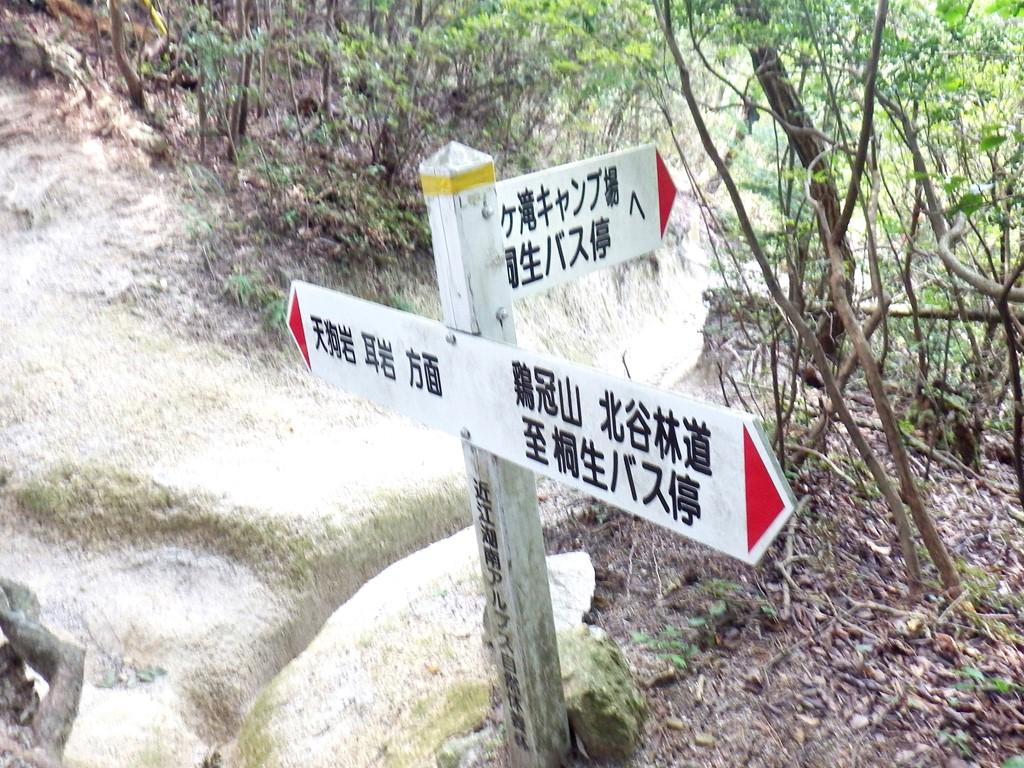 06b 落ヶ滝線への分岐